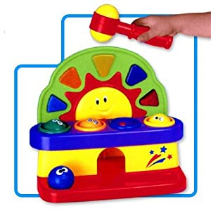 Megcos Musical Toy Pounding Bench -Affordable Gift for your Little One! Item #LMID-1234