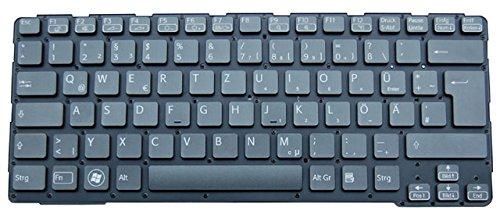 Original Tastatur Sony Vaio SVE14A2M6EP.G4 Series Schwarz DE Neu ohne Rahmen