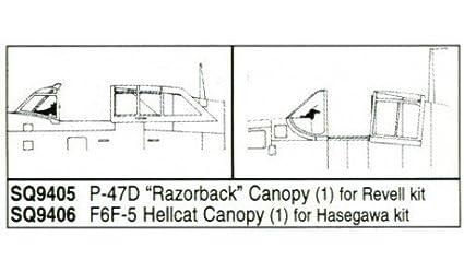 Republic P-47D Thunderbolt Razorback (pour maquettes Revell)