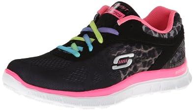 Skechers Skech Appeal - Serengeti, Girls Training Running Shoes, Black (Bknp), 5 UK (38 EU)