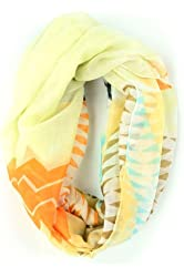 Designer Handbags - MULTI COLOR CHEVRON PRINTED SCARF - By Fashion Destination | Free Shipping