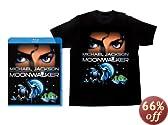 【初回限定生産】 ムーンウォーカー Tシャツ付BOX (ブックレット付) [Blu-ray]