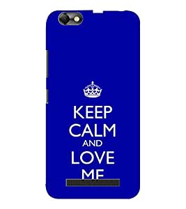 EPICCASE love me like you do Mobile Back Case Cover For Lenovo A2020 (Designer Case)