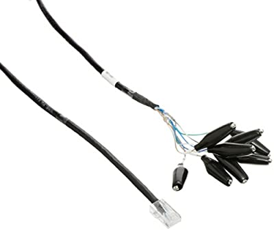 Fluke Networks CLIP-SET RJ45 to 8-Clip Test Lead