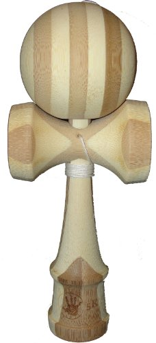 5K Kendama - Natural Bamboo, Extra String Included - 1