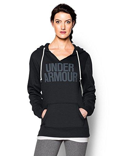 Under Armour Women's UA Favorite Fleece Word Mark Hoodie Small Black