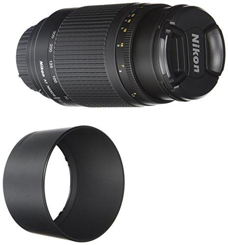 Nikon Obiettivo Nikkor 70-300 mm f/4-5.6G, Nero [Versione EU]
