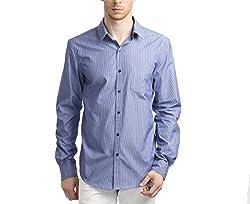 Scotchtree Men's Shirt (sco_018_Blue_Small)