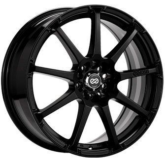 Enkei EDR9 Black (17x7 +45 4x100/114.3) -- Set 