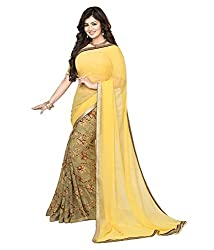 My online Shoppy Georgette Saree (My online Shoppy_30_Multi-Coloured)