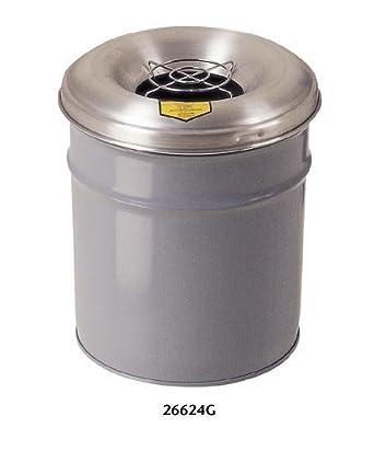"""Parrilla, 4.5 galones de capacidad, 12-1 / 8 """"OD x 14-1 / 4"""" Altura"""
