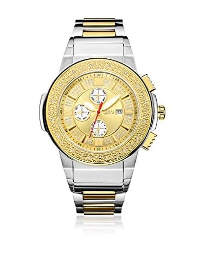JBW Reloj con movimiento cuarzo suizo Man Saxon Plateado 46 mm