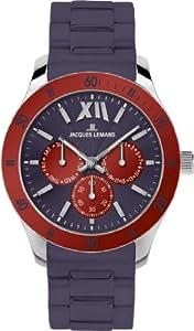 Jacques Lemans Sports Unisex-Armbanduhr Rome Sports Analog Silikon 1-1691N