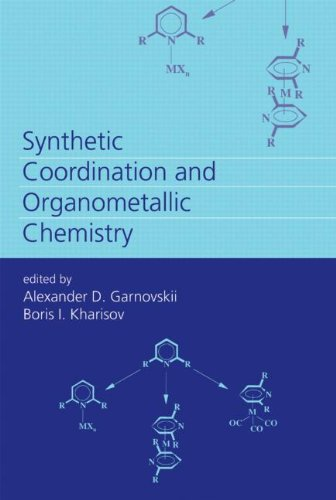Synthetic Coordination And Organometallic Chemistry front-622195