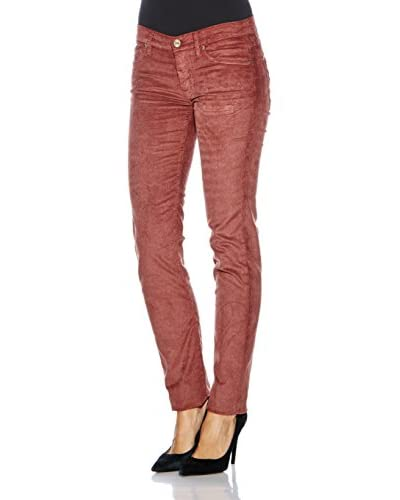 7 For All Mankind Pantalone Velluto Roxanne [Bordeaux]