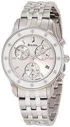 Bulova Women's 96R165 Chronograph Bracelet Watch