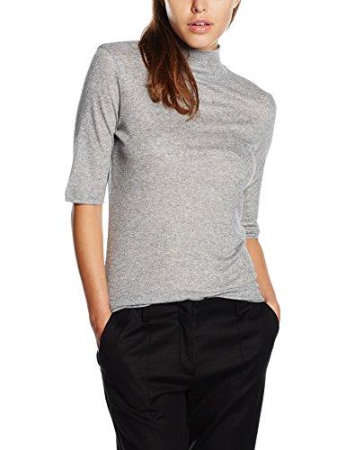 filippa-k-womens-mid-sleeve-roller-plain-3-4-sleeve-tops-grey-grey-mel-12-manufacturer-sizemedium