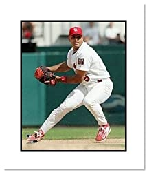 Albert Pujols St Louis Cardinals MLB Double Matted