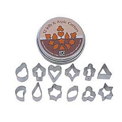 Dress My Cupcake Dmc41Cc1980 Jelly And Aspic 12-Piece Cookie Cutter Set front-496294