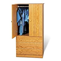 Prepac Junior 3 Drawer Wardrobe