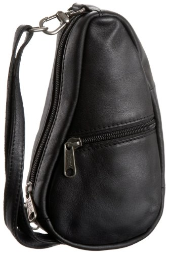 AmeriBag Leather Baglett Shoulder Bag