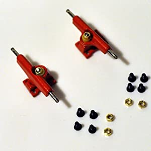 Trucks, Zinc Alloy, 29mm, Red