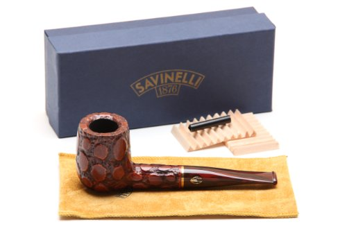Savinelli Alligator Brown 141 Tobacco Pipe