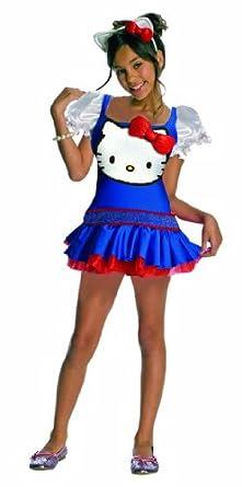 Hello Kitty Blue Romper Child Costume