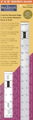 Fast2mark 6 & 18 Quilter's Rulers