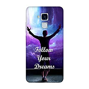 FASHEEN Premium Designer Soft Case Back Cover for Huawei Honor 5C