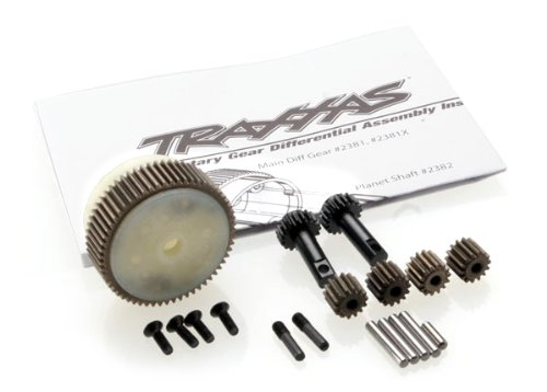 Traxxas 2388X Complete Planetary Gear Differential with Steel Ring Gear (Traxxas 2wd Transmission Parts compare prices)