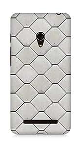 Amez designer printed 3d premium high quality back case cover for Asus Zenfone 5 (Texture)
