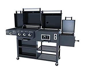 Smoke Hollow 4-in-1 LP Gas Charcoal Smoker Searing BBQ Grill Model PS9900 from Outdoor Leisure Products