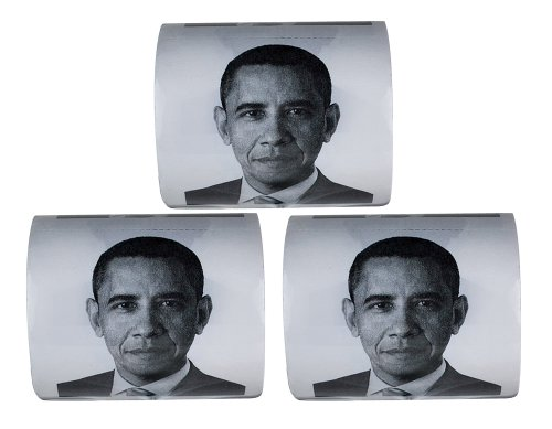 Barack Obama Toilet Paper, 3-Pack