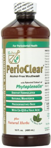 PerioClear Organic Alcohol Free Mouthwash 16oz