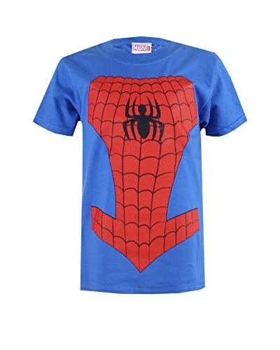 ZZ-Marvel Camiseta Manga Corta Spiderman Costume