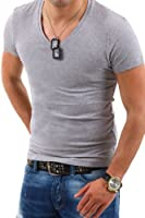 Behype T-Shirt Deep V-Neck TS-100