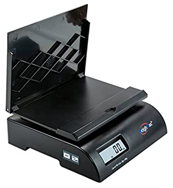 Weighmax 2822-75LB postal shipping scale, Battery and AC Adapter Included