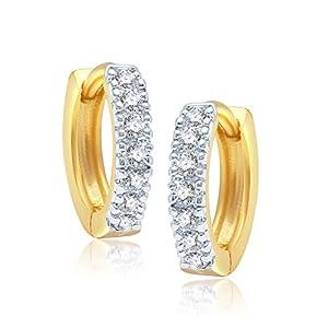 V. K. Jewels Brass Clip-On For Women Gold- BALI1001G [VKBALI1001G]