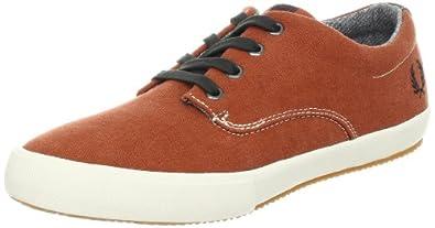Fred Perry Men's Morris Fashion Sneaker,Paprika/Anchor Grey/Ecru,9 UK/10 M US