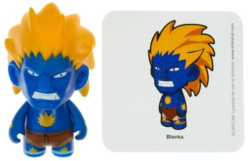 "Blanka 1: Street Fighter x KidRobot ~3"" Mini-Figure Series - 1"