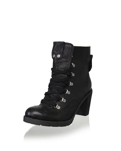 Calvin Klein Jeans Women's Annabel Hiker Boot  - Black