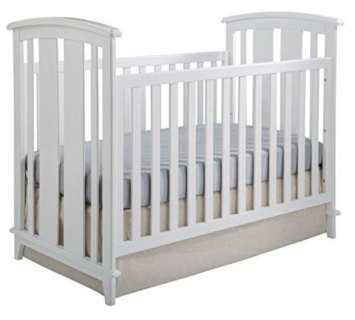 Kolcraft Elan Convertible Crib, White