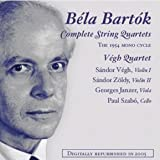 B�la Bart�k: Complete String Quartets (The 1954 Mono Cycle) ~ Bartok