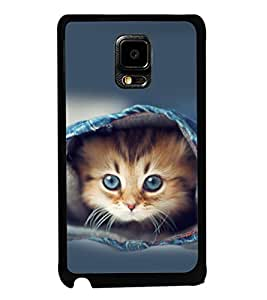 printtech Kitten Jeans Back Case Cover for Samsung Galaxy Tab 4 7.0 T231