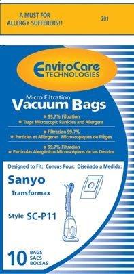 sanyo-sc-p11-transformax-bags-generic-10-pack