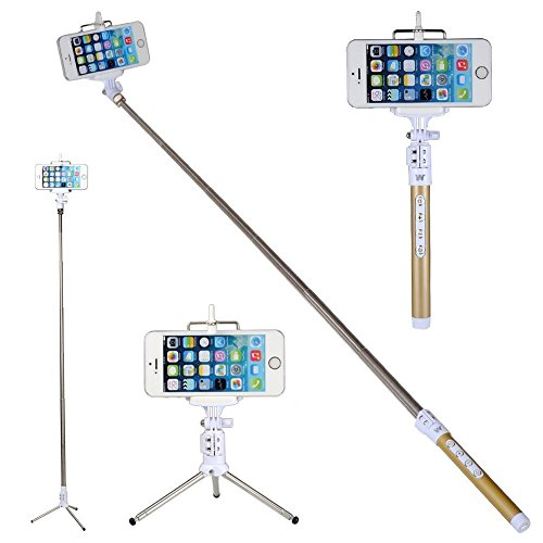coolead multi function bluetooth remote camera blue tooth selfie stick with remote monopod. Black Bedroom Furniture Sets. Home Design Ideas