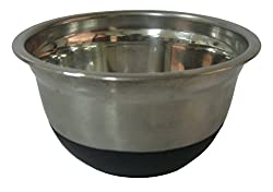 Serving Bowls - Stainless Steel Bowl Set (Steel, Pack of 2) - By Nanson