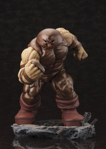 MARVEL-COMICS-DANGER-ROOM-SESSIONS-THE-JUGGERNAUT-FINE-ART-STATUE