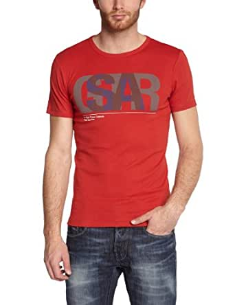 G-star - T-Shirt - Homme - Rouge (Oil Red) - L